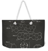 Soccer Ball Construction Artwork - Gray Weekender Tote Bag