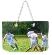 Soccer Ball In Play Weekender Tote Bag