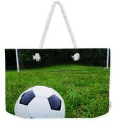 Soccer Ball On Field Weekender Tote Bag