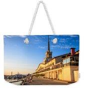 Sochi Sea Port Weekender Tote Bag