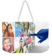 Social Media Network Weekender Tote Bag