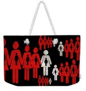 Social Responsibility 1 Part 1 Weekender Tote Bag by Angelina Vick