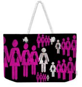 Social Responsibility 1 Part 2 Weekender Tote Bag by Angelina Vick
