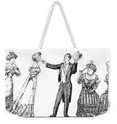 Society Hypnotist, 1900 Weekender Tote Bag