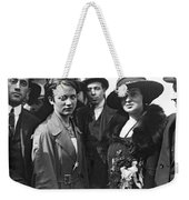 Society Women In Steerage Weekender Tote Bag