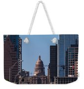 So Co View Of The Texas Capitol Weekender Tote Bag