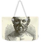 Socrates Weekender Tote Bag