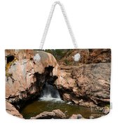 Soda Dam In New Mexico Weekender Tote Bag