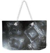 Sodium Hydroxide Crystals Weekender Tote Bag