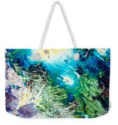 Sodium Thiosulphate Microcrystals Color Abstract Weekender Tote Bag