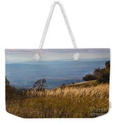 Sofia Valley From Vitosha Mountain October Early Twilight Weekender Tote Bag