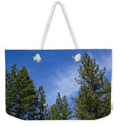 Soft And Gentle Sky Weekender Tote Bag