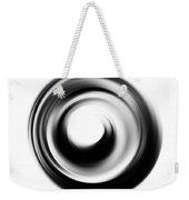 Soft Black Enso - Art By Sharon Cummings Weekender Tote Bag