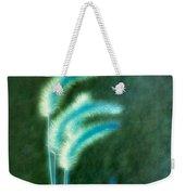Soft Blue Grass Weekender Tote Bag
