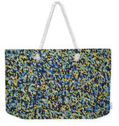 Soft Blue With Yellow Weekender Tote Bag