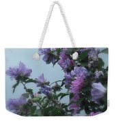 Soft Blues And Pink - Spring Blossoms Weekender Tote Bag
