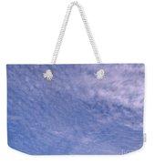 Soft Clouds Blue Sky Weekender Tote Bag