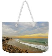 Soft Colors On The Coast Weekender Tote Bag by Lynn Bauer