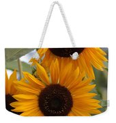 Soft Colors Sunflowers Weekender Tote Bag