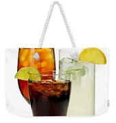 Soft Drinks Weekender Tote Bag by Elena Elisseeva