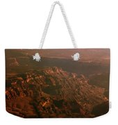 Soft Early Morning Light Over The Grand Canyon 3 Weekender Tote Bag