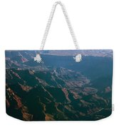 Soft Early Morning Light Over The Grand Canyon 4 Weekender Tote Bag