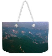 Soft Early Morning Light Over The Grand Canyon 5 Weekender Tote Bag
