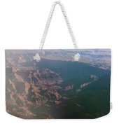 Soft Early Morning Light Over The Grand Canyon Weekender Tote Bag