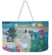 Soft Evening Glow Weekender Tote Bag