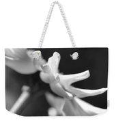 Soft Focus Daisy Flower Monochrome Weekender Tote Bag