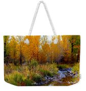 Soft Forest Colors Weekender Tote Bag