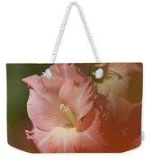 Soft Gladiolus Weekender Tote Bag