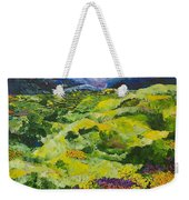 Soft Grass Weekender Tote Bag