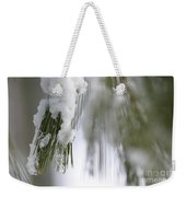 Soft Ice Weekender Tote Bag