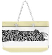 Soft Kitty Warm Kitty Weekender Tote Bag