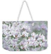 Soft Lavender Dancing Azalea Flowers Weekender Tote Bag