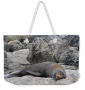Soft Life Seal Weekender Tote Bag