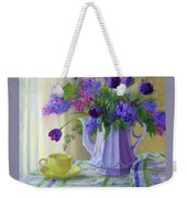 Soft Light Weekender Tote Bag by Bonnie Mason