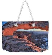 Soft Light On The Rocks Weekender Tote Bag