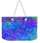Soft Pastel Floral Abstract Weekender Tote Bag