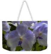 Soft Purple Orchids Weekender Tote Bag