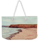 Soft Rain On The Beach Weekender Tote Bag