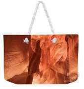 Soft Sculpted Sandstone Walls Weekender Tote Bag by Adam Jewell