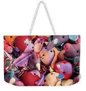 Soft Toys 02 Weekender Tote Bag