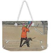 Softball Star Weekender Tote Bag