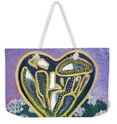 Softened Heart Best Reflections Energy Collection Weekender Tote Bag