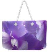 Softness Of Purple Begonias Weekender Tote Bag
