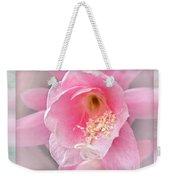 Soft..pink..delicate Weekender Tote Bag
