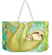 Soggy Mossy Sloth Weekender Tote Bag