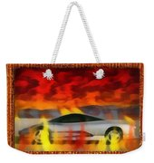 Solace Among Flames Weekender Tote Bag